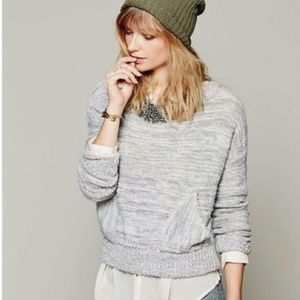 Free People In the Pocket Crop Sweater